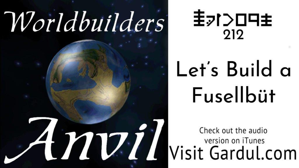 Episode 212 Let's Build a Fusellbüt