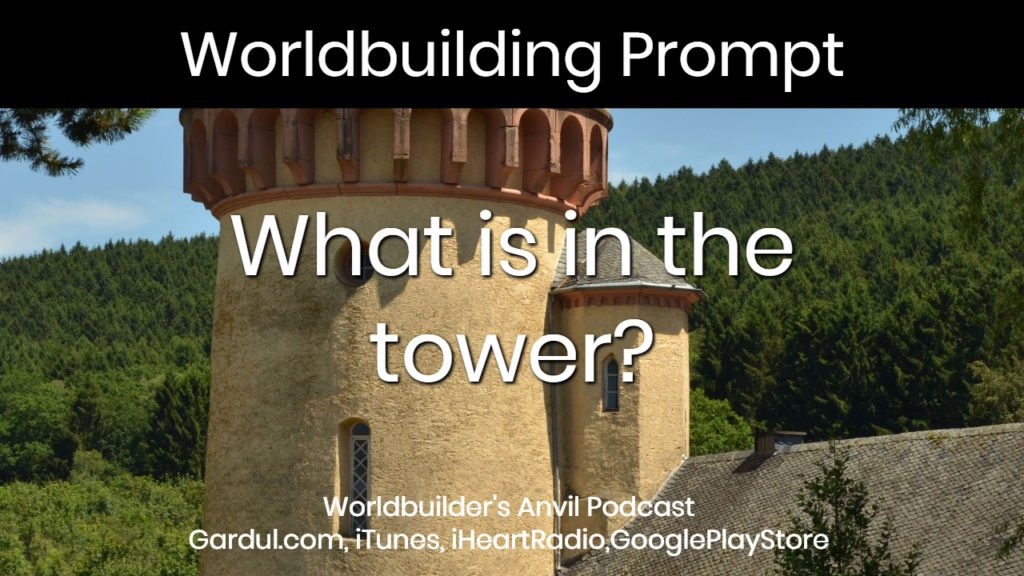 What is in the tower?