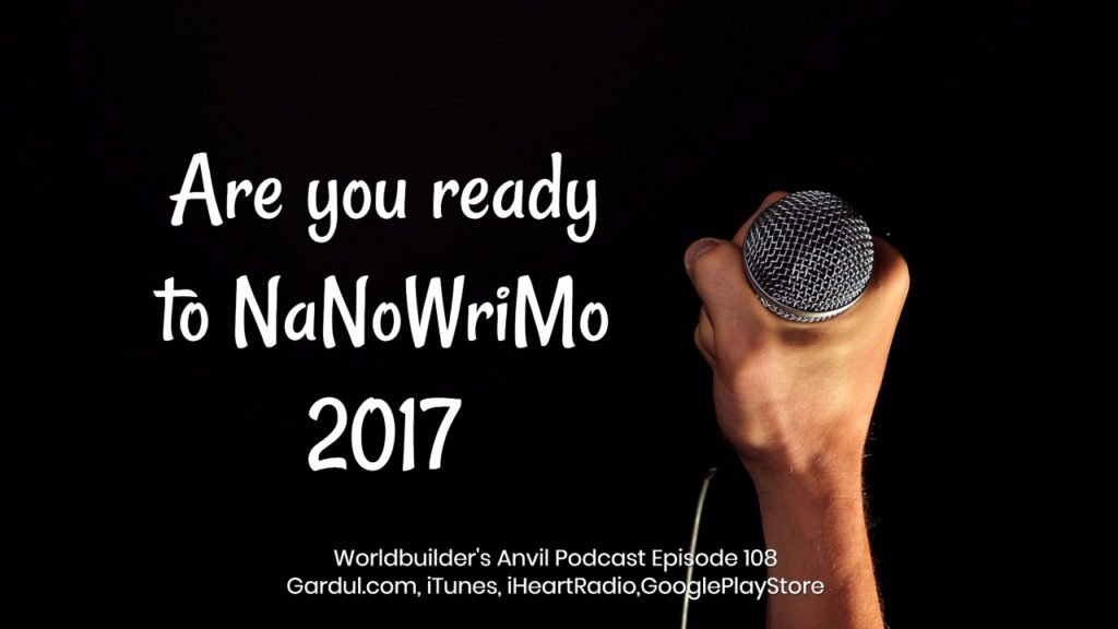 Are you ready to NaNoWriMo 2017