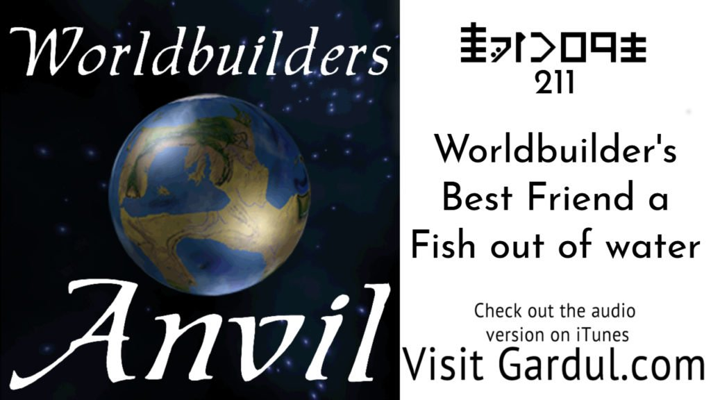 Worldbuilder's Best Friend a Fish out